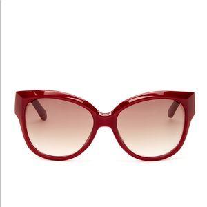 Kate spade new York red Jessa sunglasses